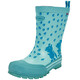 Viking Footwear Plask Rubber Boots Children turquoise